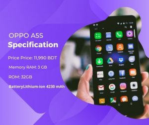 Oppo A5s Short Specification