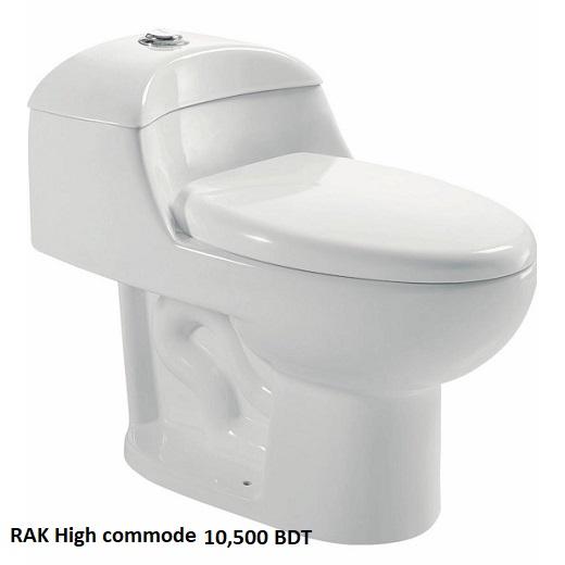 RAK High commode