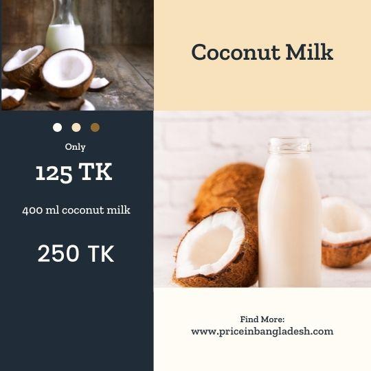 Coconut Milk Price