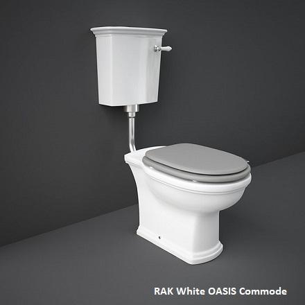 RAK White OASIS Commode